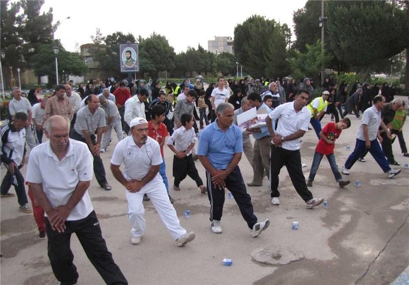 ممنوعیت قعالیت ورزشکاران همگانی فاقد بیمه