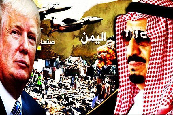 تداوم مشارکت آمریکا در جنایت سعودی