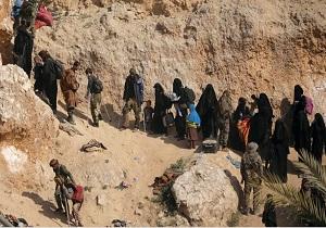 ۹ هزار داعشی و ۶۰ هزار نفر از اعضای خانواده آنها در سوریه بازداشت هستند