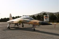 چرخش دیدنی جنگنده تمام ایرانی کوثر در مراسم روز ارتش +فیلم