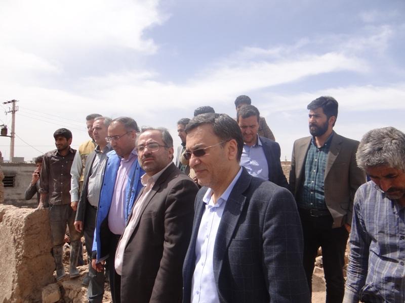 بردسکن بیشترین خسارت سیل را در استان داشته است