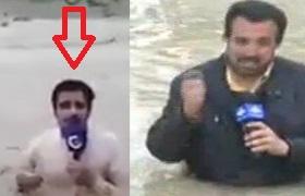 خبرنگاری که رو دست حسینی بای زد! + فیلم