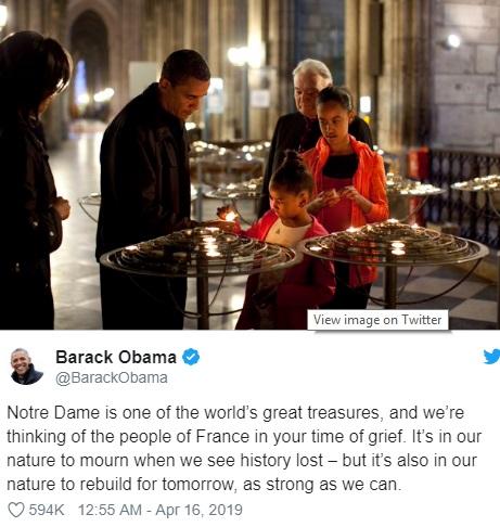 تفاوت اوباما و ترامپ در دو توئیت + تصاویر