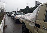 باشگاه خبرنگاران -ارسال  اقلام امدادی به منطقه قلایی سلسله توسط ارتش لرستان