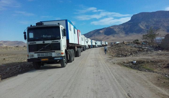 سازمان توسعه منابع انرژی اقلام بهداشتی و مواد غذایی به مناطق سیل زده ارسال کرد