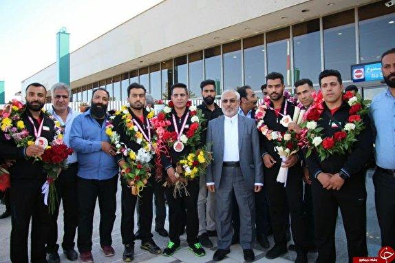 باشگاه خبرنگاران - استقبال از مدال آوران مسابقات آسیایی کیک بوکسینگ WKA در کرمان + تصاویر