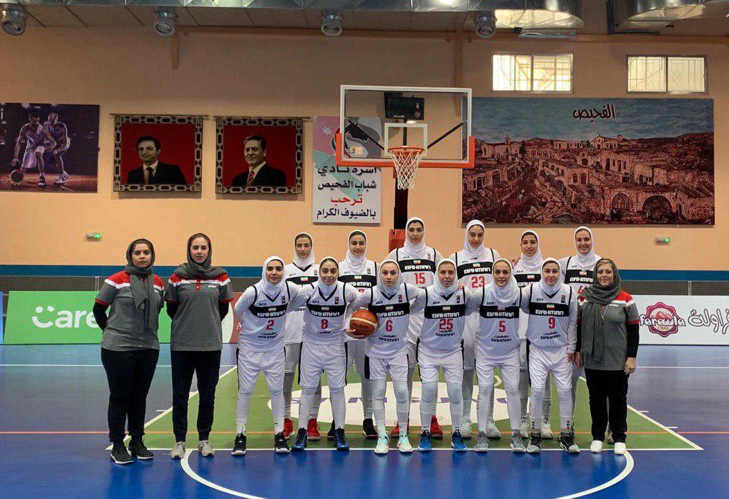 باشگاه خبرنگاران -دختران بسکتبال ایران در اردن گل کاشتند/ کسب مدال تاریخی در غرب آسیا