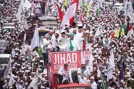تظاهرات مردم اندونزی برای پایان دادن به اسلامهراسی