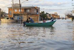 «آق قلا» غرق در آب