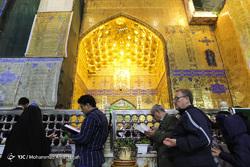 زائران نوروزی بارگاه مقدس حضرت امیرالمومنین (ع)