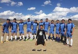 آغاز مسابقات فوتبال نوروزی گرامیداشت۸۵۰ شهید شهرستان نهاوند