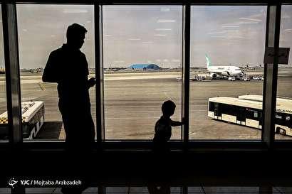 باشگاه خبرنگاران -مسافران نوروزی در فرودگاه مهرآباد
