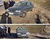 باشگاه خبرنگاران - ۲ مصدوم بر اثر واژگونی خودروی سواری پراید