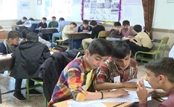 باشگاه خبرنگاران -رقابت دانش آموزان مهابادی در جشنواره ریاضی علمی کاربردی
