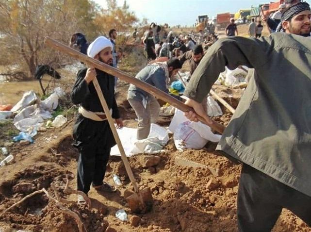 اعزام ۴۰ خادم الشهدا از یزد به مناطق سیلزده کشور