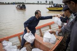 امدادرسانی مواکب به سیلاب خوزستان