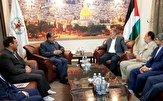 باشگاه خبرنگاران -دیدار رئیس و اعضا گروه دوستی پارلمانی ایران و فلسطین با نایب رئیس دفتر سیاسی جنبش حماس