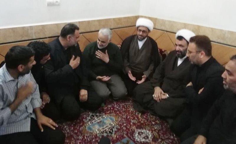 هدیه ویژه سردار سلیمانی به مناسبت ازدواج خواهر شهید مدافع حرم