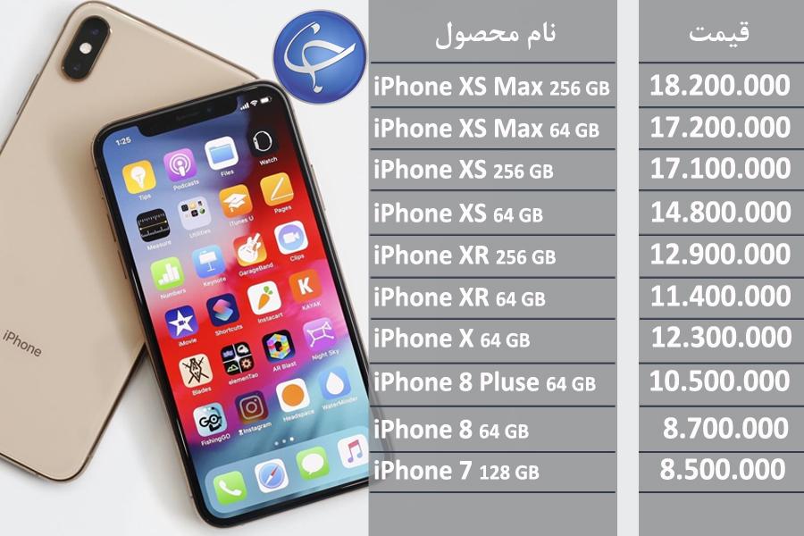 آخرین قیمت تلفن همراه در بازار (بروزرسانی ۳۱ فروردین) +جدول