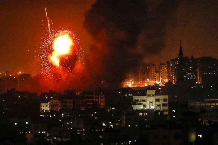 حملات ارتش رژیم صهیونیستی به غزه