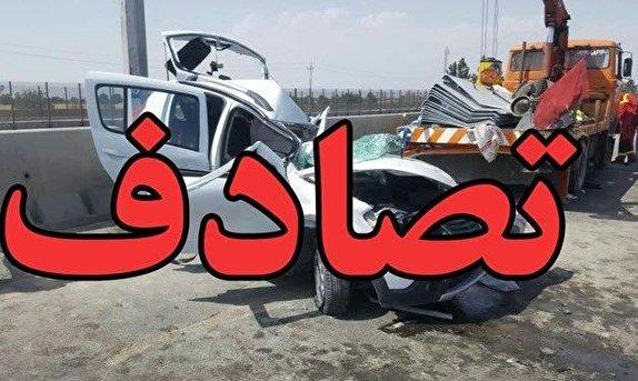 باشگاه خبرنگاران -واژگونی خودرو سواری ام وی ام در زنجان یک کشته بر جا گذاشت