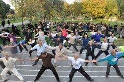 برگزاری ورزش صبحگاهی با برنامههای متنوع و مختلف در زنجان