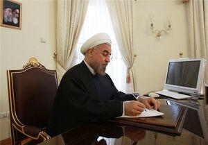 پیام تسلیت روحانی به مناسبت درگذشت کارشناسان بنیاد مسکن اردبیل