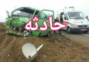 واژگونی خودروی حامل زائران عراقی در ملایر