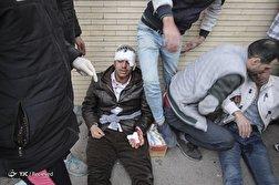 باشگاه خبرنگاران - درگیری پس از بازی تراکتورسازی و پیکان