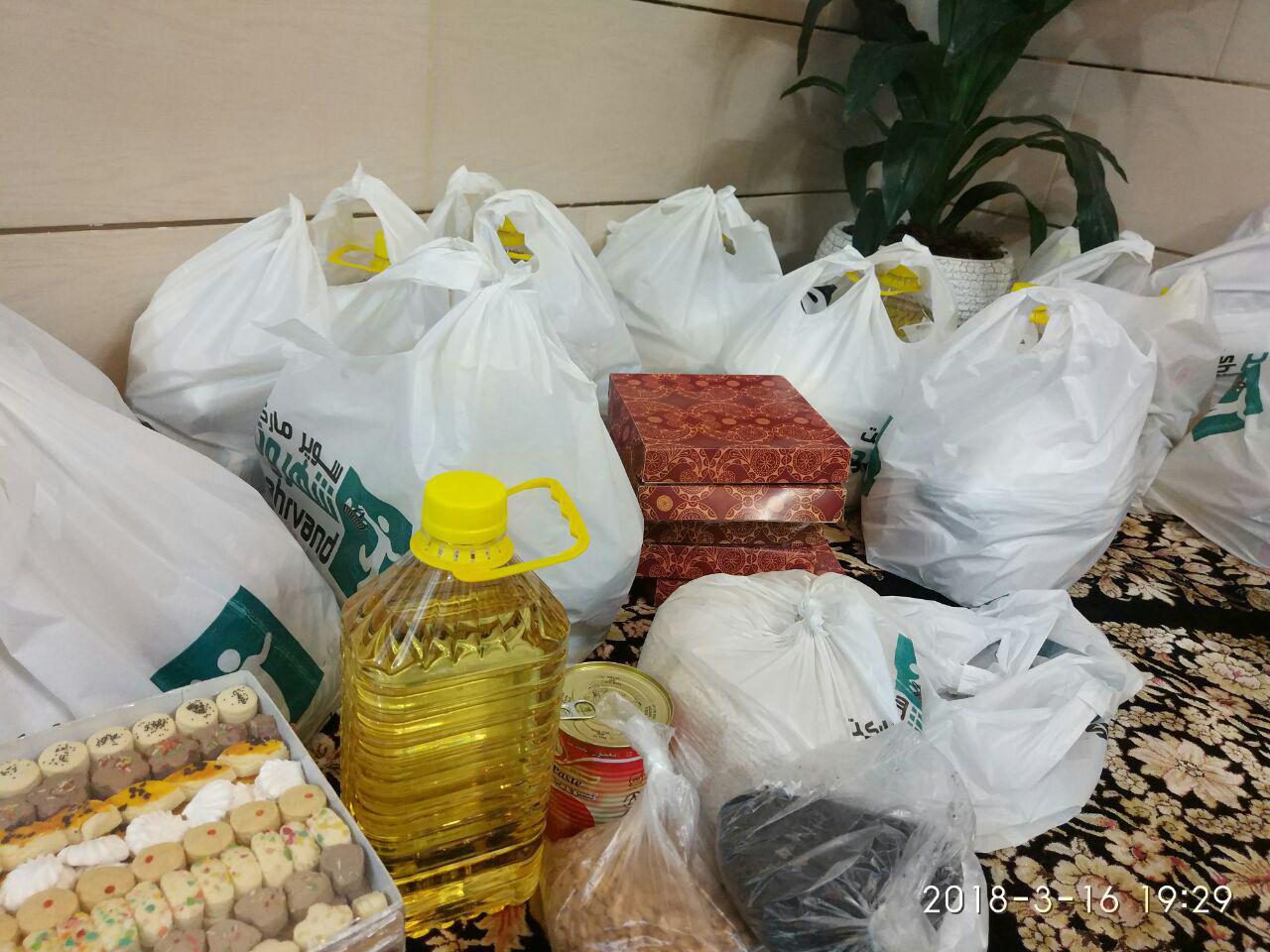 توزیع ۳۷۲ تن کالاهای تنظیم بازار در شهرستان بم