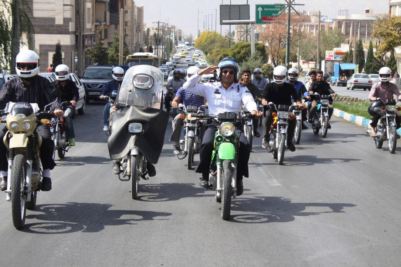 ضرورت استفاده از کلاه ایمنی برای موتورسیکلت سواران