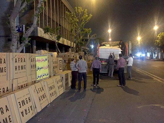 کمکهای نقدی و غیرنقدی به استان خوزستان ارسال شد