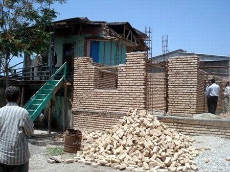ساخت مسکن برای 200خانوار سیل زده کلات