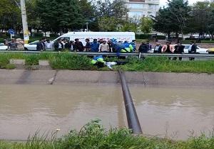 غرق شدن یک نفر در کانال آب قزوین