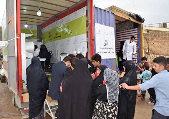 باشگاه خبرنگاران -خدمات سلامت الکترونیکی در مناطق سیل زده لرستان+تصاویر