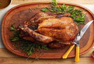 طرز تهیه مرغ شکم پر بدون فر + جزئیات