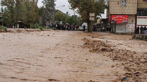 باشگاه خبرنگاران -بارندگی برخی راههای روستایی شیروان را به زیر آب فرو برد