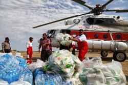 توزیع مایحتاج عشایر سیلزده لرستان با ۱۵ عملیات هلی برن