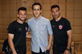 باشگاه خبرنگاران -تمرین تیم فوتبال پرسپولیس در امارات