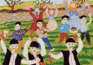 هنرمند مهابادی در نمایشگاه نقاشی بین المللی خوش درخشید