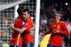 مقدماتی جام ملتهای اروپا ۲۰۲۰/ اسپانیا ۲ - نروژ ۱