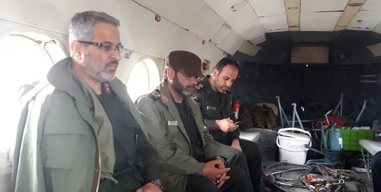 جانشین فرماندهی کل  سپاه، از مناطق سیل زده شهرستان آققلا بازدید کرد