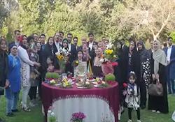 جشن نوروز در سرزمین فراعنه + فیلم