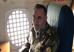 توضیحات فرمانده نیروی زمینی ارتش در مورد آخرین وضعیت کمک رسانی به مناطق سیل زده + فیلم