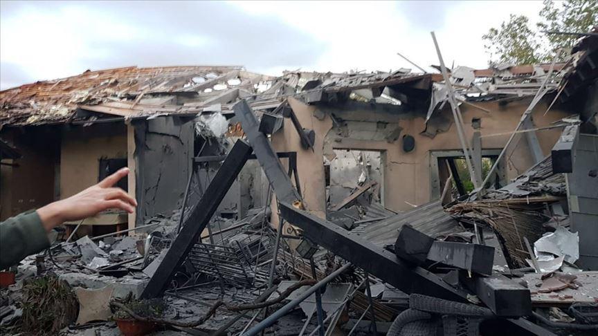 اصابت یک موشک به منطقهای در شمال تلآویو/ ۷ صهیونیست زخمی شدند
