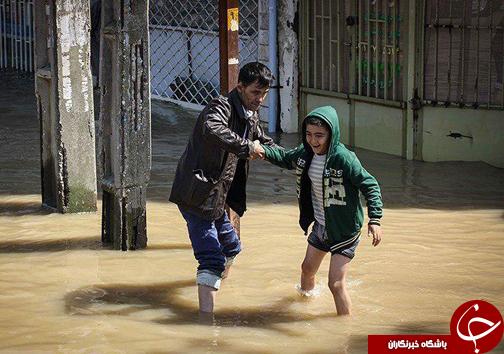 آخرین خبرها از روند امداد رسانی به سیل زدگان در گلستان/بیش از ۹۰ درصد منازل آققلا از آب تخلیه شد+تصاویر