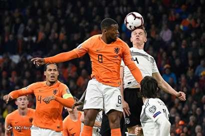 مقدماتی جام ملتهای اروپا ۲۰۲۰/ هلند ۲ - آلمان ۳