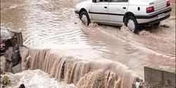 احتمال وقوع سیلاب و طغیان رودخانهها در ۹ استان/  آبگرفتگی معابر عمومی در گیلان و غرب مازندران