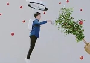 پهپادی که نیروی جاذبه را شکست میدهد! + فیلم