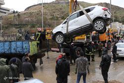 خسارات سیل شیراز
